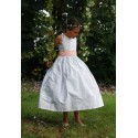 V back Josephine flower girl dress Little Eglantine