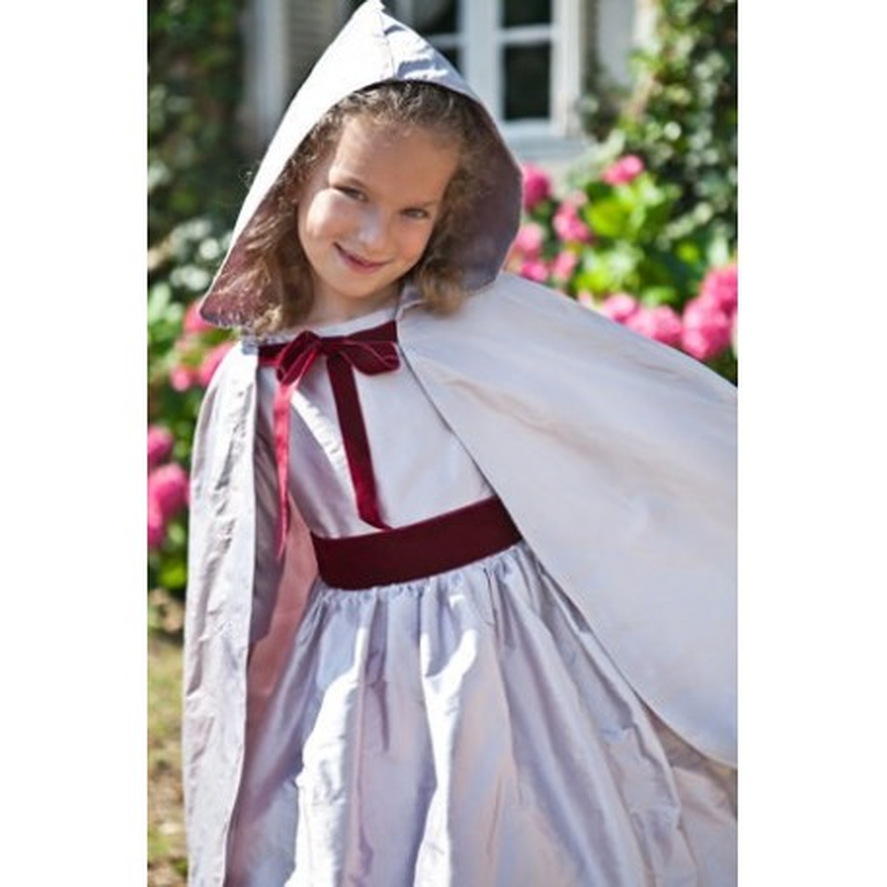 Silk Cape for flower girls by Little Eglantine