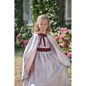 Silk Cape for flower girls by Little Eglantine