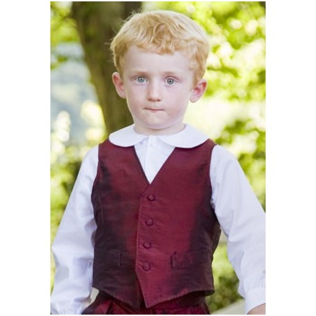 Waistcoat for page boy holy communion occasionswear christmas little eglantine