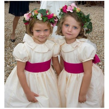 Daphné flower girl dress