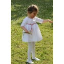 Amelie baby girl flower girl dress special occasions Little Eglantine - above the knee designer flower girl dresses UK