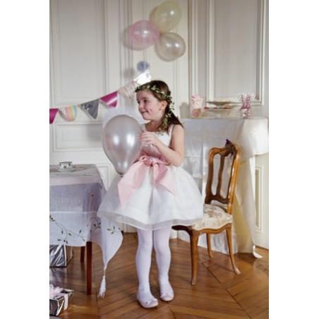 Constance silk organza party dress by royal designer Little Eglantine