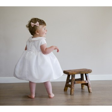Zelie christening dress & knickers
