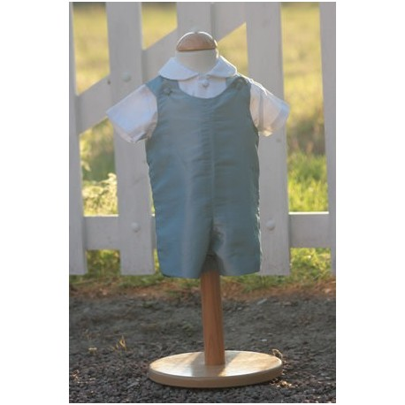 Pale blue Baby Rompers by royal designer Little Eglantine