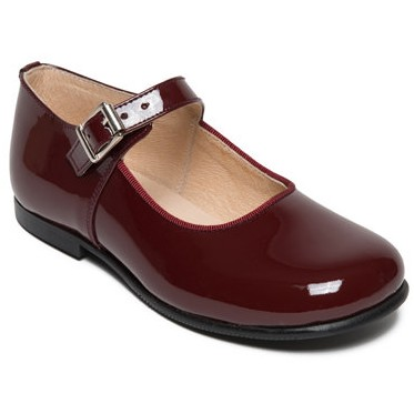 Yolaine burgundy shoes
