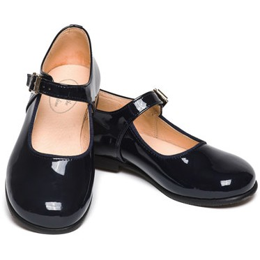 Yolaine navy blue shoes