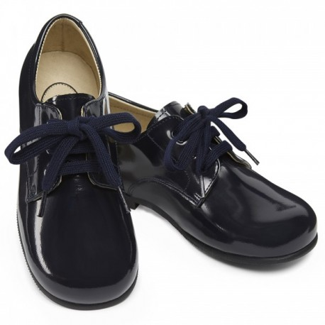 Smart Thibault lace-up Boy shoes for weddings, church, birthdays Christmas parties little eglantine