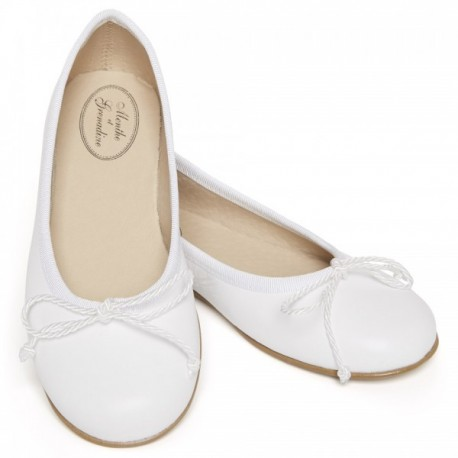Clarisse classic ballerina shoes for girls weddings, parties, special occasions, communion little eglantine