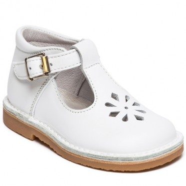 Alix T-bar shoes with buckle