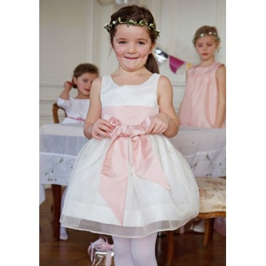 Constance silk organza dress