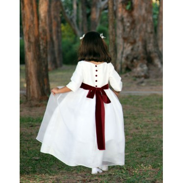d0b6a02a434 Designer Flower girl dresses - Little Eglantine