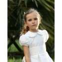 Flora holy communion dress by French designer Little Eglantine