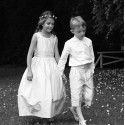 Designer communion dresses - Josephine - French designer Little Eglantine first holy communion