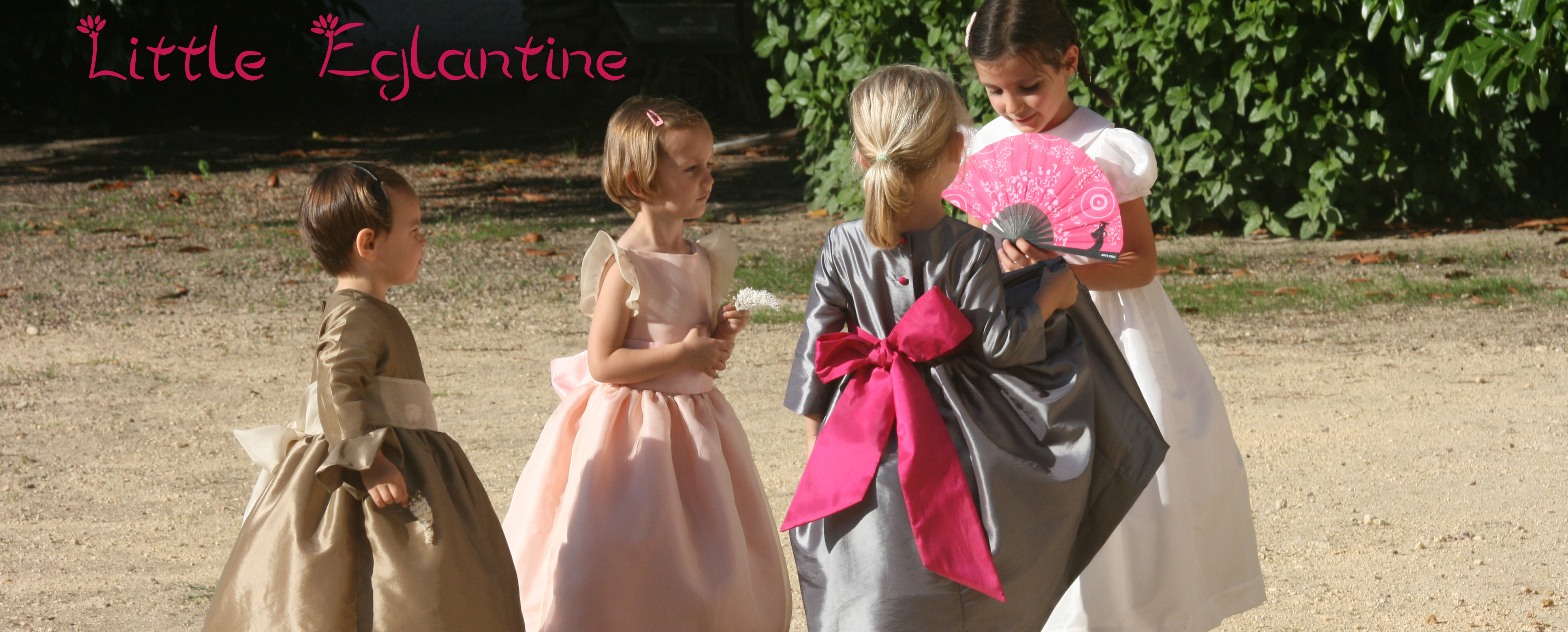 Award winning Designer of flower girl dresses and page boy outfits for the UK