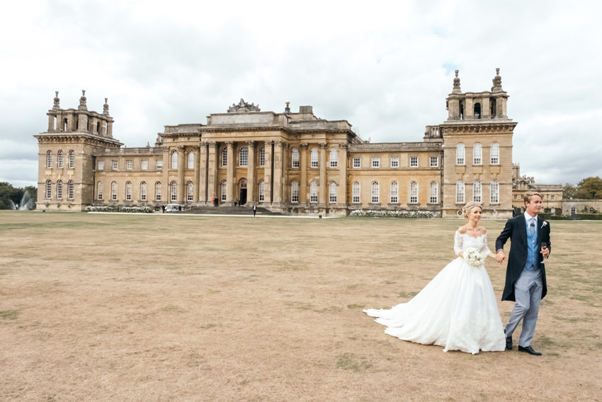 Camilla Thorp wedding with Marquess Georges Blandford at Blenheim Palace