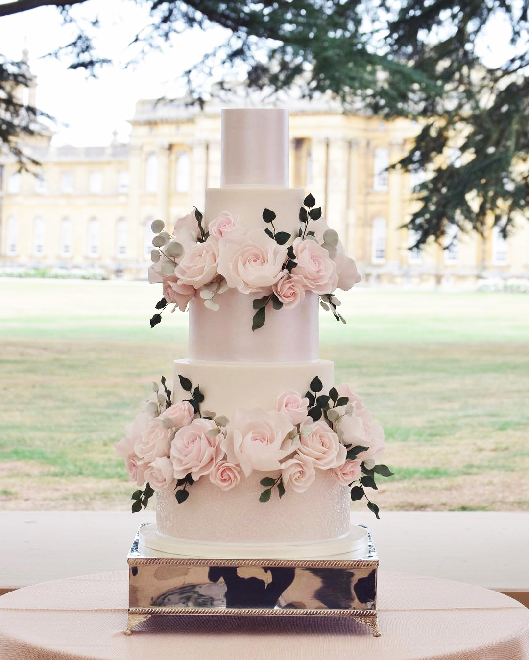 Georges and Camilla Blandford wedding cake by Cotton and Crumbs