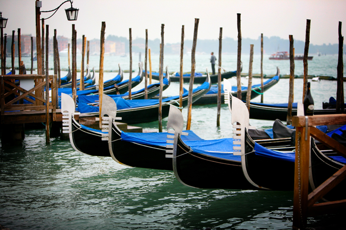 Venice Wedding inspiration - boats