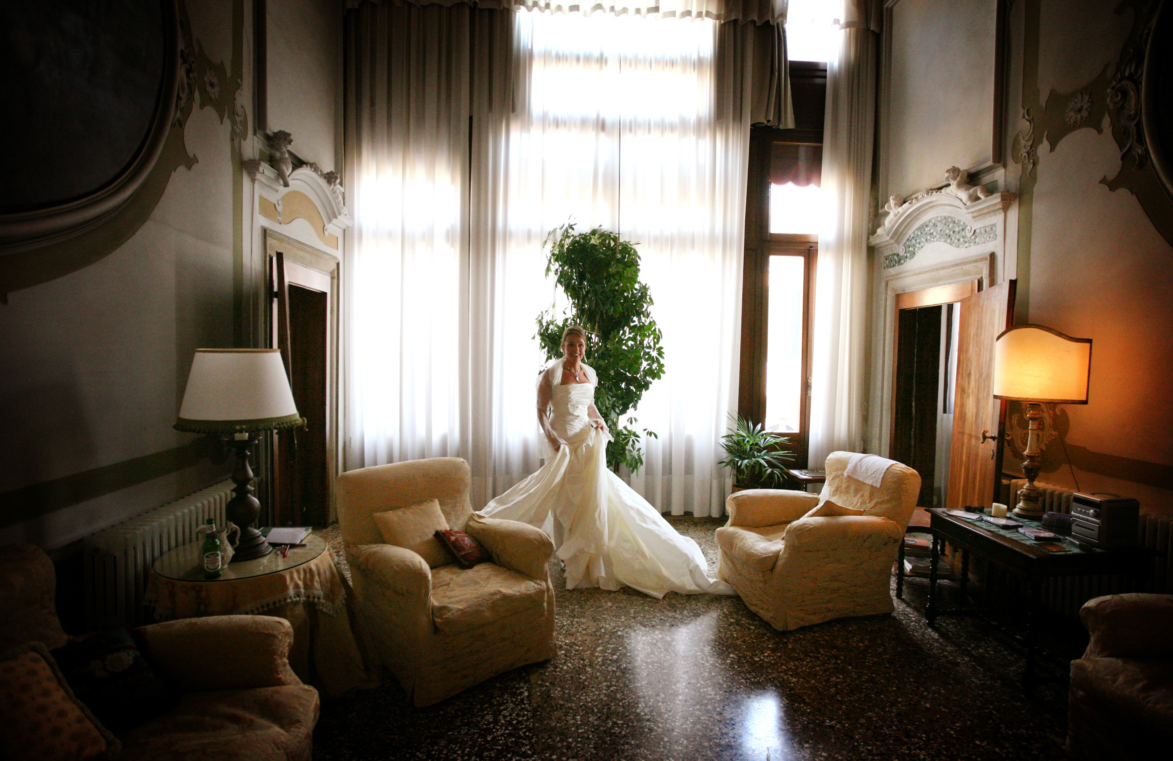 venice wedding bride little eglantine photo de tito photographie