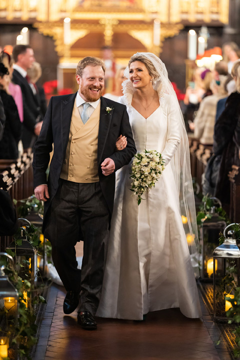A traiditional London winter wedding