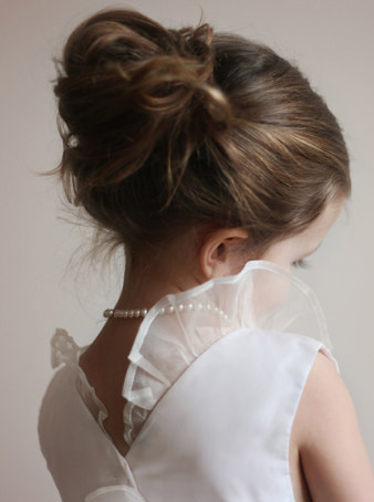 New York Bridal fashion week designer flower girl dress Chloe Little Eglantine
