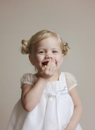 Diane silk organza designer flower girl dress - Little Eglantine