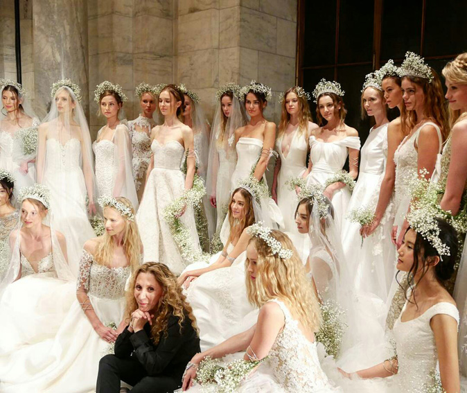 Reem Acra wedding dresses collection New York Bridal fashion Week