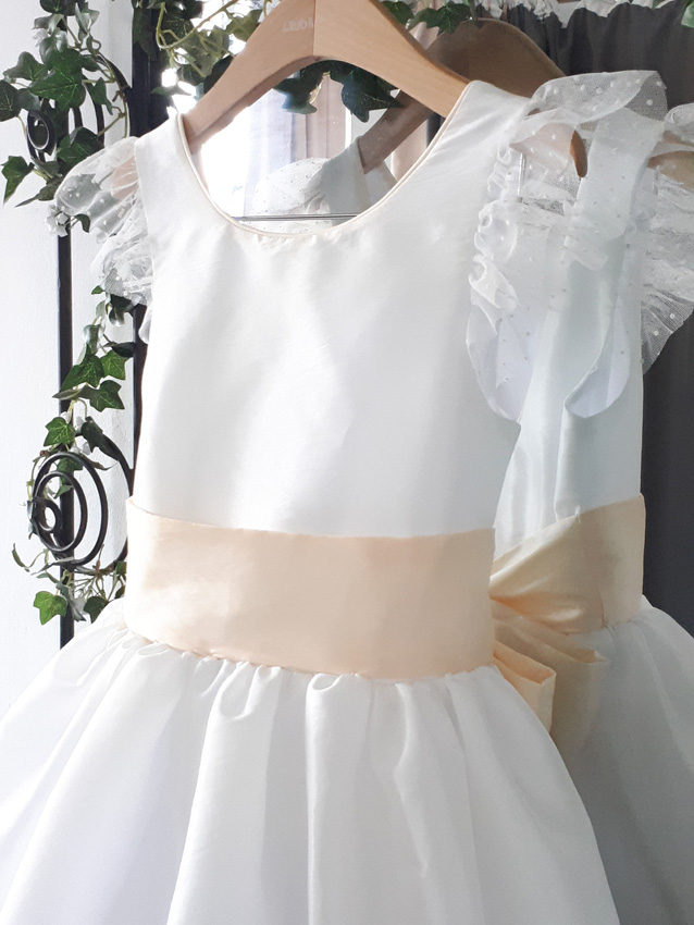 Millie Mackintosh chose Little Eglantine Olympia flower girl dress for her wedding