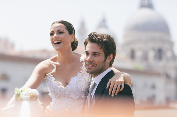 wedding in Venice lovely couple lusso events