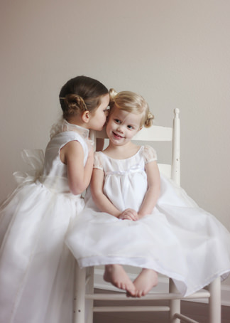 New york bridal fashion week luxury designer flower girl dresses Little Eglantine