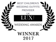 Little Eglantine 2017 Lux wedding awards winner best children's wedding outfits provider