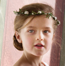 Hair accessories for flower girls