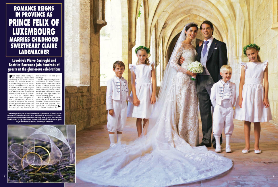 Hello Magazine - Prince Felix royal wedding