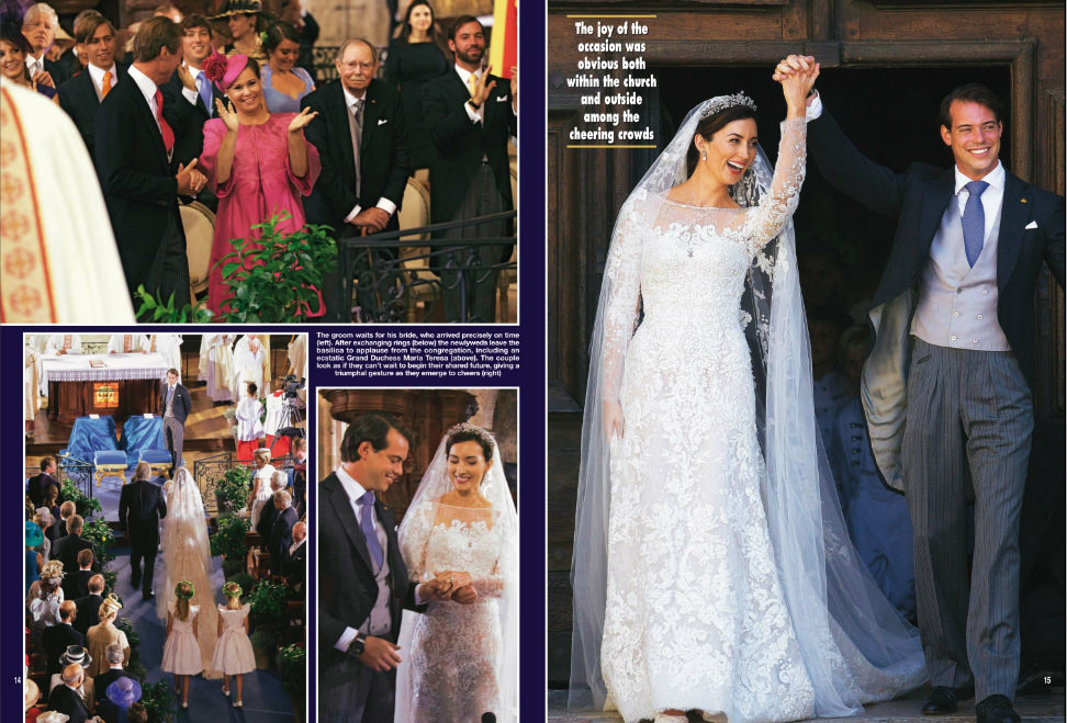 Hello Magazine - Princess Claire Lademacher wedding
