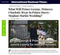 International Business Times - Prince Harry's wedding - Little Eglantine