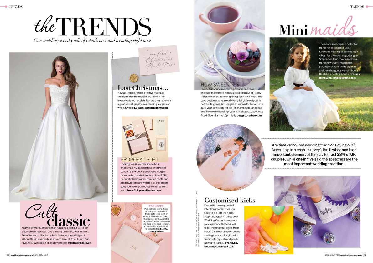 Camille flower girl dress from Little Eglantine featured in Wedding Ideas