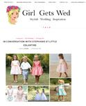 Girl gets wed blog - interview Little Eglantine - 17 feb 2018