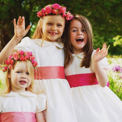 Designer flower girl dresses Little Eglantine