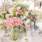 All the flowers and scent of Spring... . . . @maryjanevaughan #weddingflowers #weddinginspiration #weddingtablescape