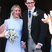 Ellie Goulding chose French designer @Chloe to design a bespoke dress for her wedding. Her assistant told us it naturally came to French designer Little Eglantine when choosing who would make her junior bridal party attire. . . . #elliegoulding #elliegouldingwedding #celebritywedding #littleeglantine