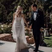Megan wore a gorgeous custom-made dress designed by @pallascouture. Megan discovered Little Eglantine through Instagram and contacted us as soon as she saw our designs. We will give you more details about this beautiful wedding over the week. Stay tuned! Read the full post on our blog. . . . Pic @tali_photography #ibizawedding #beautifulbride #weddingstyle #weddingplanning