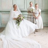 I can't thank you enough, Natalie, for sharing your gorgeous pictures with us... this made our day. 😘💕💕 . . . Pic @simon_murdoch_photography #realwedding #flowergirls #frenchcouture #littleeglantine #frenchdesigner #kidscouture #loveisintheair #instawedding #weddinginspiration #luxurywedding #luxuryweddingplanning #flowergirldress