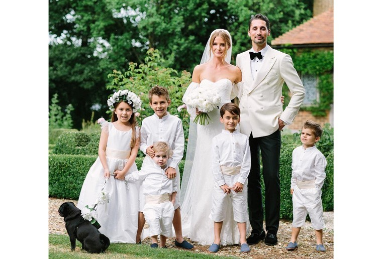 Millie Mackintosh chose Little Eglantine for her junior bridal party attire