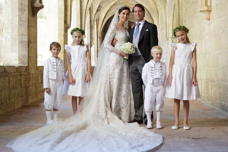 Congratulations on Princess Claire & Prince Felix' wedding anniversary!
